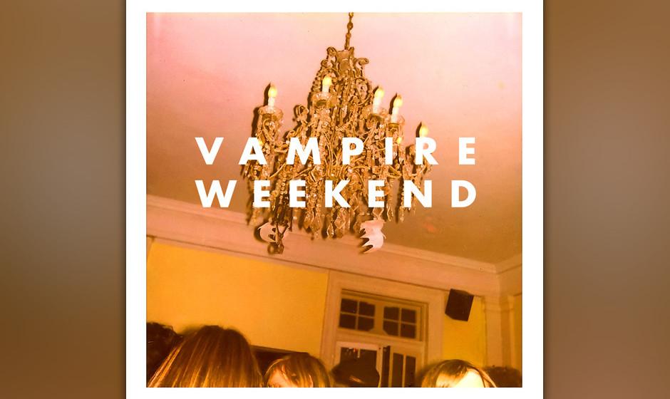 430. Vampire Weekend: Vampire Weekend (2009). Vampire Weekend kamen frisch von der Columbia University und teilten eine Vorli