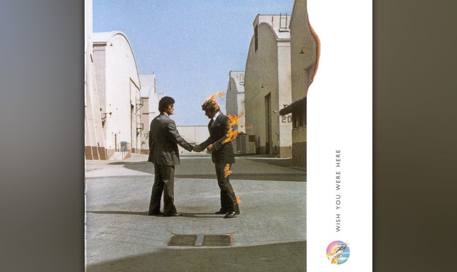 "211. Wish You Were Here: Pink Floyd 1975. Der Nachfolger von ""Dark Side Of The Moon"" war ein weiterer Kommentar zum tägl"