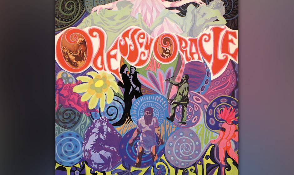 100. The Zombies - Odessey And Oracle, 1969 Man machte den größten Teil der Aufnahmen im Londoner Abbey-Road-Studio – und