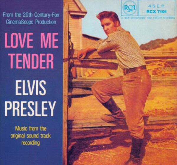444. Elvis Presley - 'Love Me Tender' (Presley, Vera Watson) 'Love Me Tender' war der Titelsong des ersten Elvis-Films un