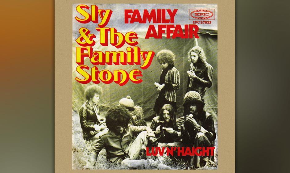 """139. Sly & The Family Stone - Family Affair In """"Family Affair"""" geht es um die Beziehungen zu seiner Band, seiner Familie"""