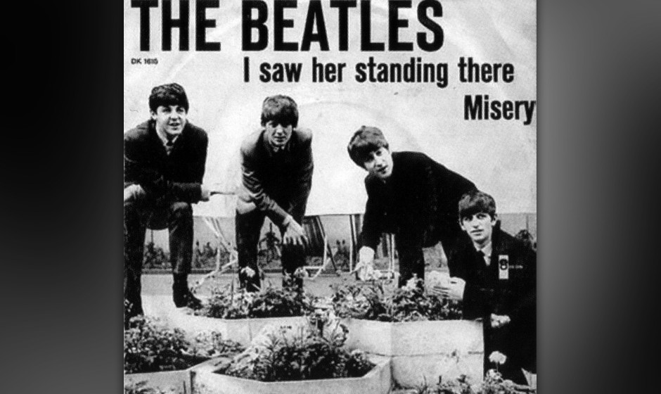 "140. The Beatles - I Saw Her Standing There  ""One, two, three, fah!"" Die B-Seite von ""I Want To Hold Your Hand"", hatt"