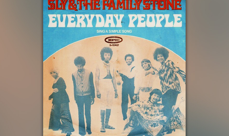 "146. Sly and the Family Stone – Every Day People Everyday People"" erschien auf Sly and the Family Stones vierter LP ""St"