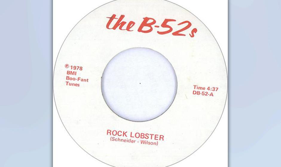 """147. The B-52's - Rock Lobster Die """"seltsame kleine Tanztruppe"""" aus Athens, wie sie sich selbst bezeichnete, bereitete"""