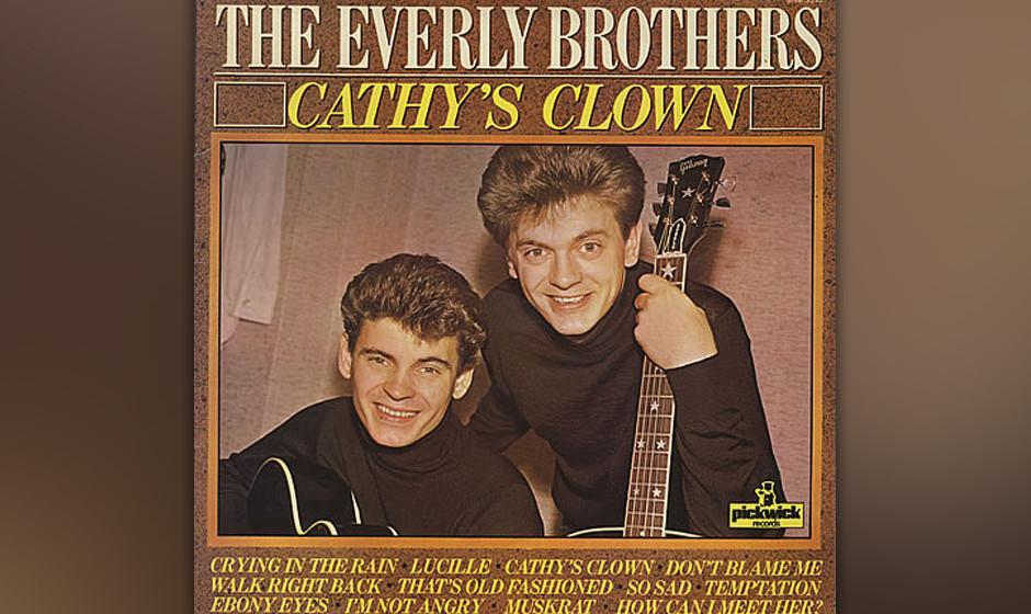 150. The Everly Brothers - Cathy's Clown Nach sieben Top10-Hits für Cadence Records, wurden die Everlys die ersten Künstler