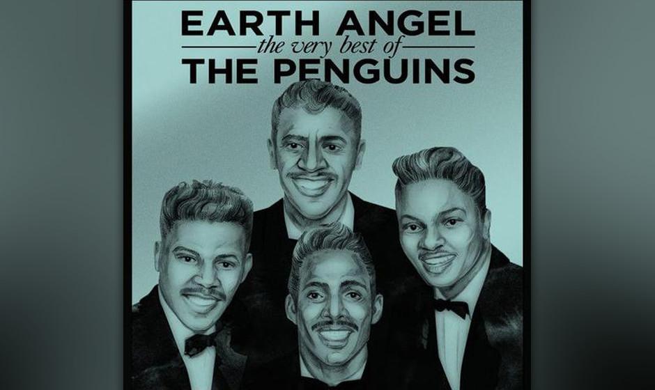 """152. The Penguins – Earth Angel Aufgenommen in einer Garage und veröffentlicht auf einem kleinen Label: """"Earth Angel"""""""