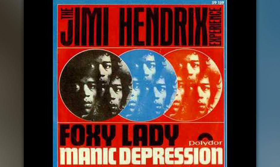 153. Jimi Hendrix – Foxy Lady Heather Tylor, die spätere Frau von Roger Daltrey (The Who), soll Hendrix angeblich zu diese