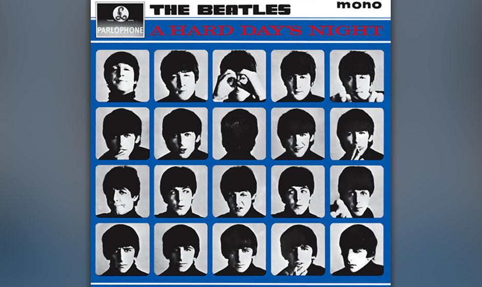 154. The Beatles - A Hard Day's Night Der Titel war ein Ringo-Starr-typischer Versprecher, das Produkt einer harten 24-Stun
