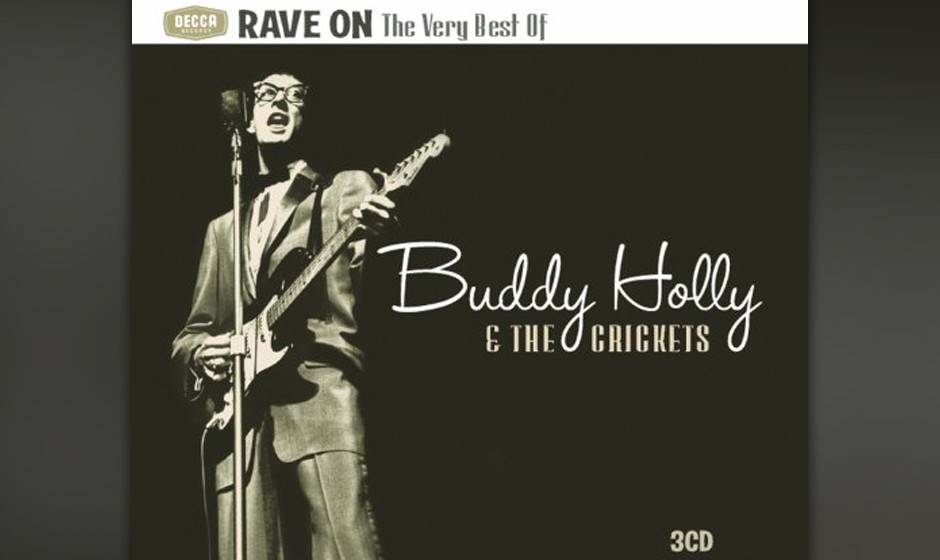 "155. Buddy Holly & The Crickets - Rave On  West nahm seine eigene Version von ""Rave On"" in dem Studio in New Mexico auf,"