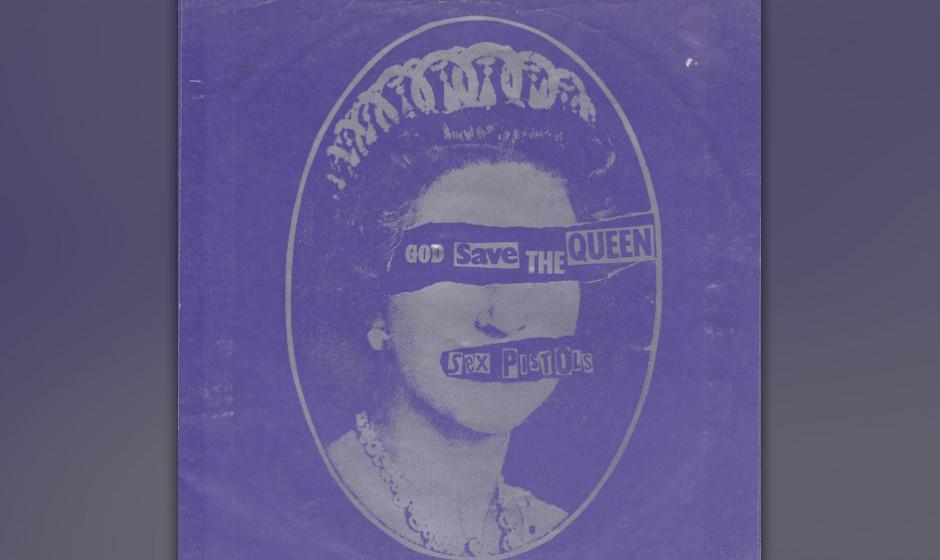 """175. The Sex Pistols - God Save The Queen Wegen """"eklatanter Geschmacklosigkeit"""" zu Recht von der BBC boykottiert, verhöh"""
