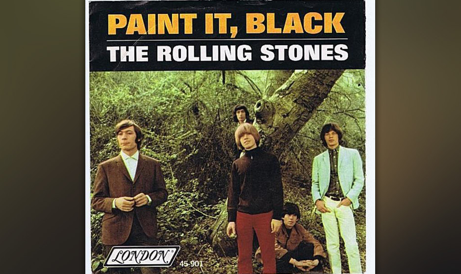 176. The Rolling Stones – Paint It Black Brian Jones spielte die unheimliche Sitar-Melody in einer 1966er-Aufnahmesession,