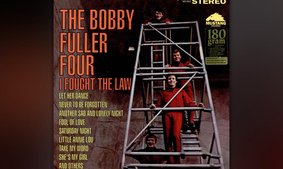 177. The Bobby Fuller Four - I Fought The Law Mit seinem nöligen Texas-Akzent hätte Fuller bei dieser Nummer aus der Feder
