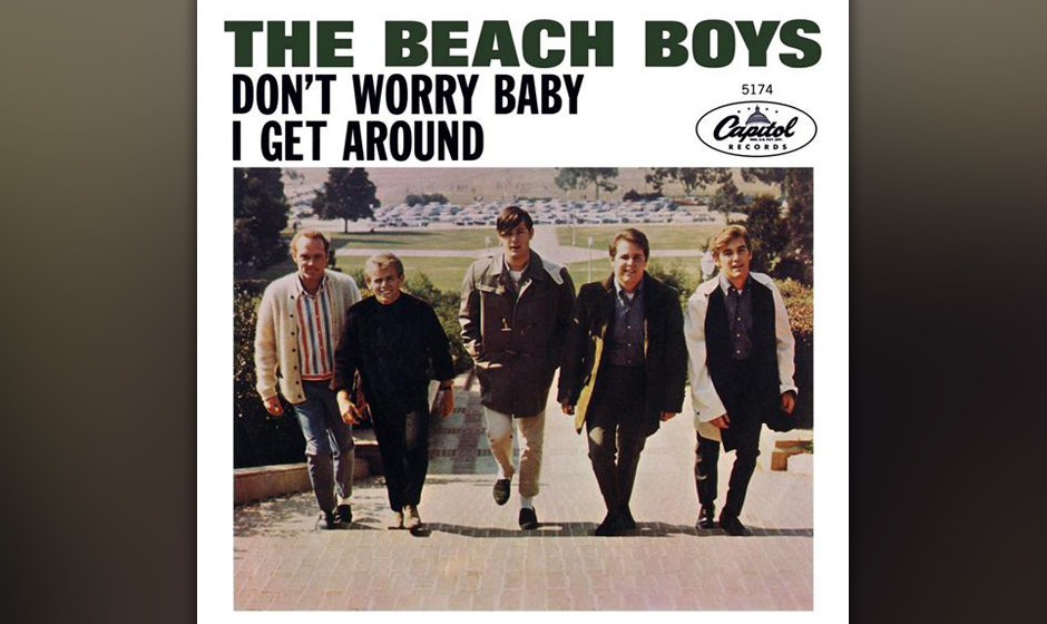"178. The Beach Boys – Don't Worry Baby Wilson hatte so oft den Ronettes' Song ""Be My Baby"" angehört, dass er den G"