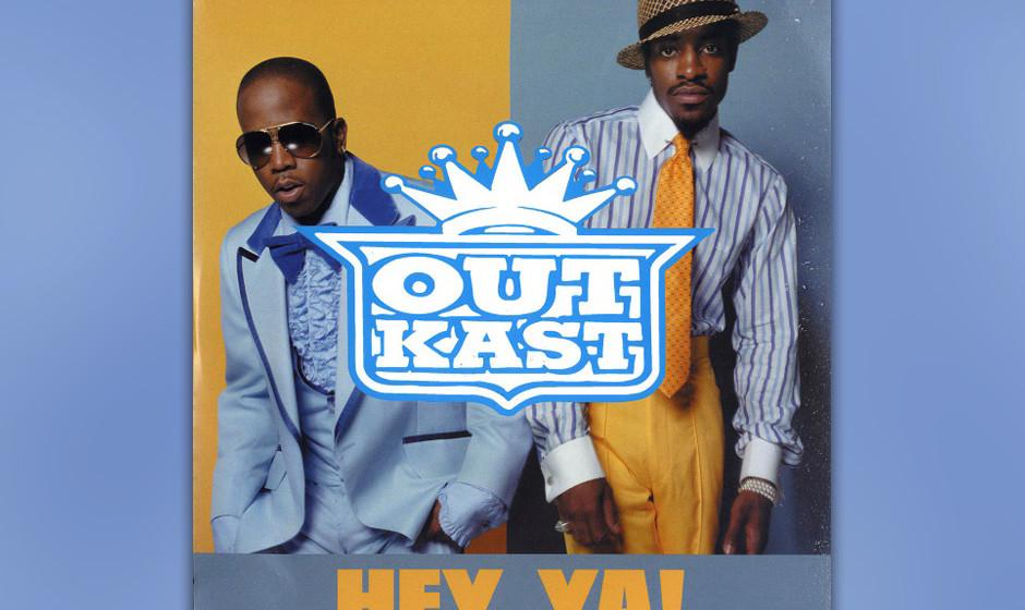 182. Outkast – Hey ya! Eine Hitformel kann man das eigentlich nicht nennen: Ein Rocksong, mit einem 11/4-Takt von einem Hip