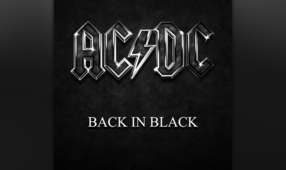 190. AC/DC - Back In Black Eine Woche nachdem  Angus und Malcolm Young mit Bon Scott in London Ideen gewälzt hatten, trank d