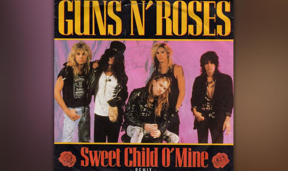 198. Guns N' Roses - Sweet Child O' Mine Mitten auf einem Album über billige Drogen und noch billigeren Sex kam dieser L