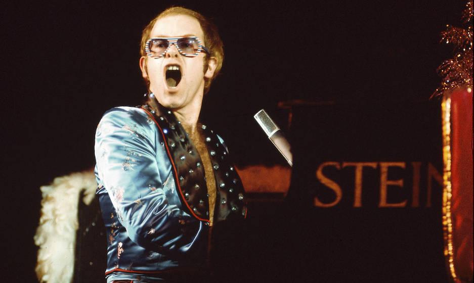 Elton John live in the 1970's