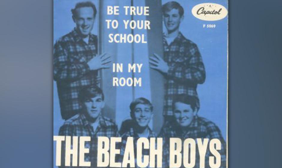 """212. The Beach Boys – In My Room Obwohl der Text von Gary Usher stammt, war der Inhalt purer Wilson. """"Brian sagte immer,"""