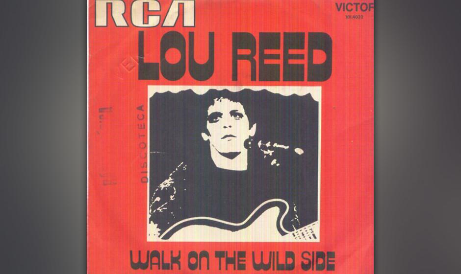 """223. Lou Reed Walk On The Wild Side  Reed wurde angefragt für ein Musical zu schreiben, das auf der Novelle """"A Walk On The"""