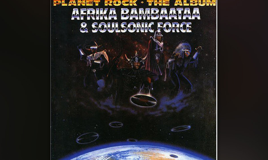 240. Afrika Bambaataa and the Soul Sonic Force  - Planet Rock Bambaataa hatte die Raps und John Robie war der Synth-Spezialis