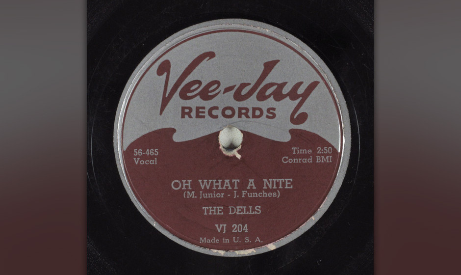 263. The Dells – Oh, What A Night Das Chicago R'n'B-Quintett The Dells landete mit dem Song 1956 einen regionalen Hit.