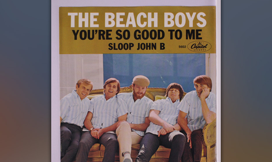 "276. The Beach Boys – Sloop John B Al Jardine machte Wilson auf den bahamesischen Folksong ""The Wreck Of The John B."" a"