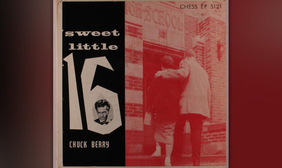 277. Chuck Berry – Sweet Little Sixteen Chuck Berry wusste Bescheid über Amerika, die Macht des Rock 'n'Roll, Gitarren