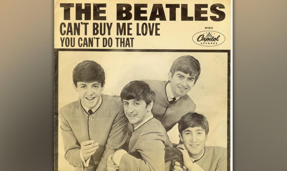 """295. The Beatles – Can't Buy Me Love """"Das war mein Versuch, etwas Bluesiges zu schreiben"""", sagte McCartney. Komponier"""