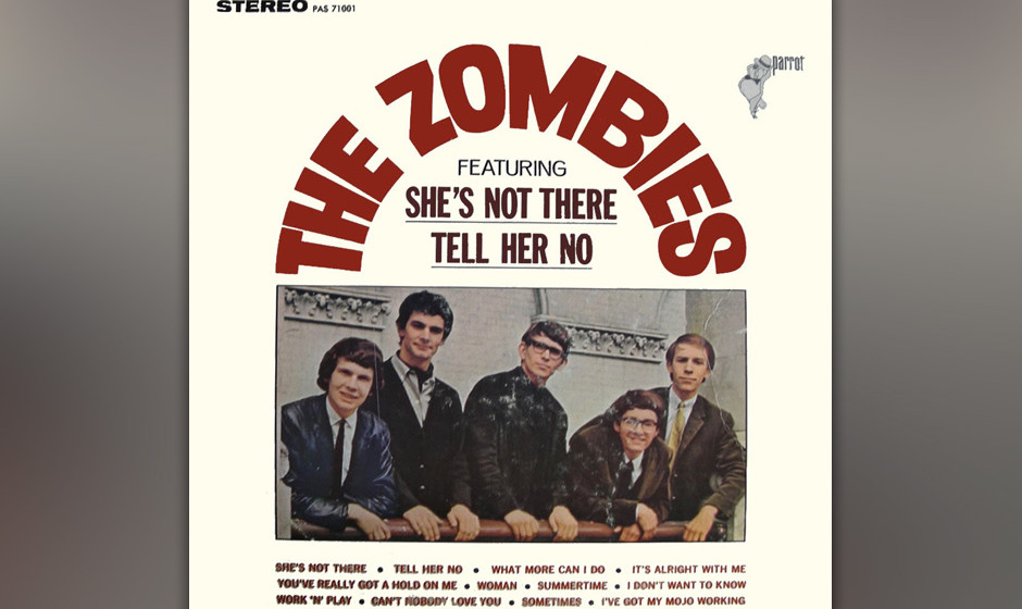 "297. The Zombies – She's Not There Colin Blunstones federleichte Vocals und Rod Argents hüpfendes Piano machten aus ""S"