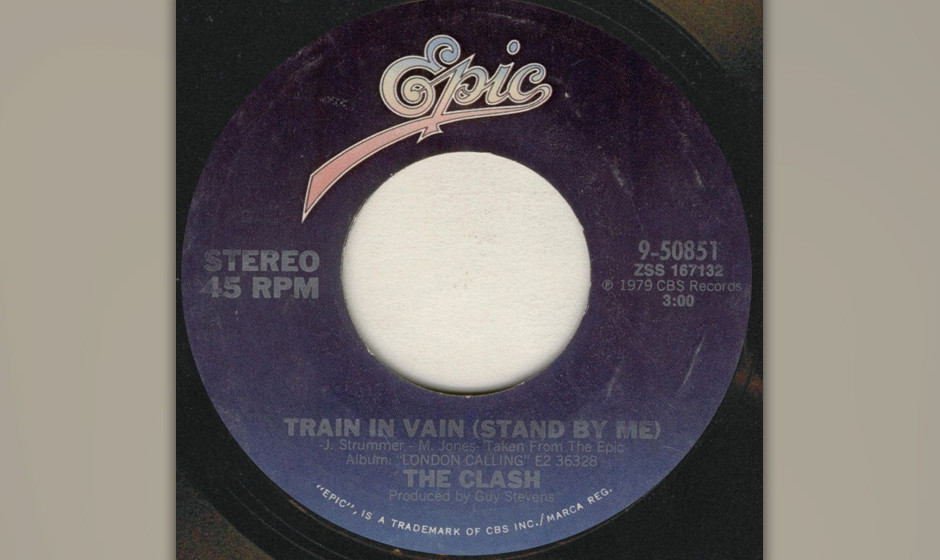 "298. The Clash – Train in Vain Eigentlich war ""Train In Vain"" ein hidden track am Ende des epochalen ""London Calling�"