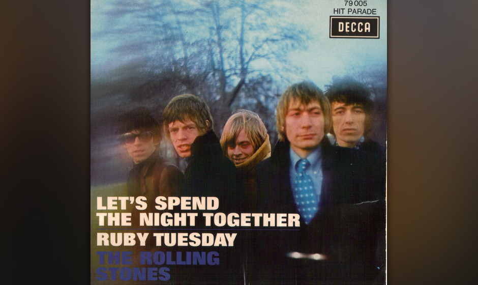 "310. The Rolling Stones – Ruby Tuesday  Während einer Session für ""Between The Buttons"" im November 1966, schrieb Ric"