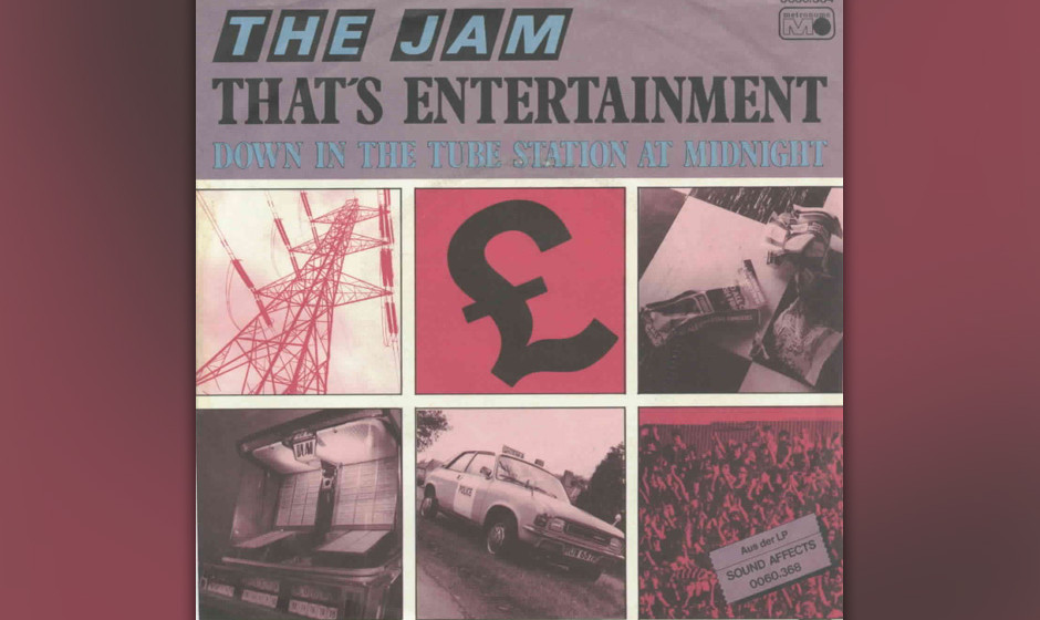 313. The Jam – That's Entertainment In England landeten The Jam mit ihrem schrillen Mod-Sound reihenweise Hits, doch für