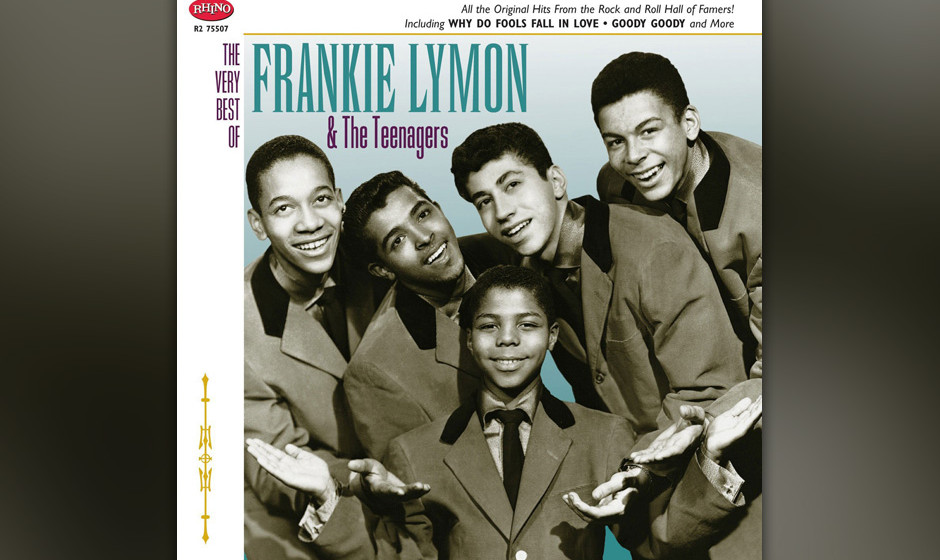 314. Frankie Lymon And The Teenagers – Why Do Fools Fall In Love  Diesen Hit schrieb und sang Lymon mit 13, doch die Credit