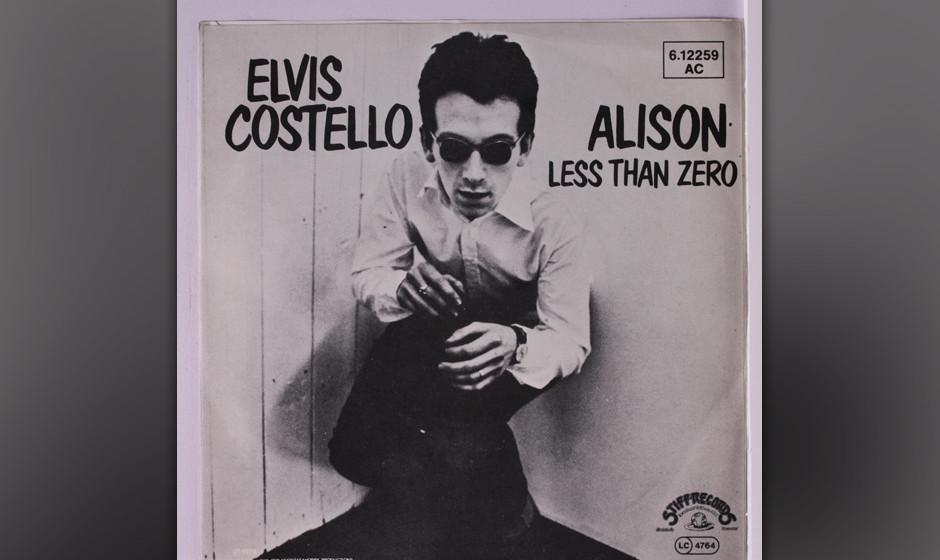 """323. Elvis Costello – Alison Manche Leute glauben """"Alison"""" sei eine Mörder-Ballade. """"Ist sie aber nicht"""", stellte"""
