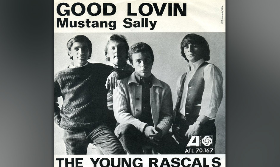 333. The Young Rascals - 'Good Lovin' (Rudy Clark, Arthur Resnick) Als gefühlvolle New Yorker Kneipenband versuchten die Ras
