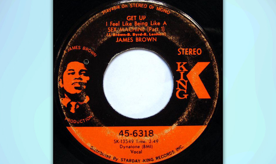 334. Sex Machine - James Brown (Brown, Byrd, Lenhoff) Tontechniker Ron Lenhoff wurde vor allem deshalb als Co-Komponist genan
