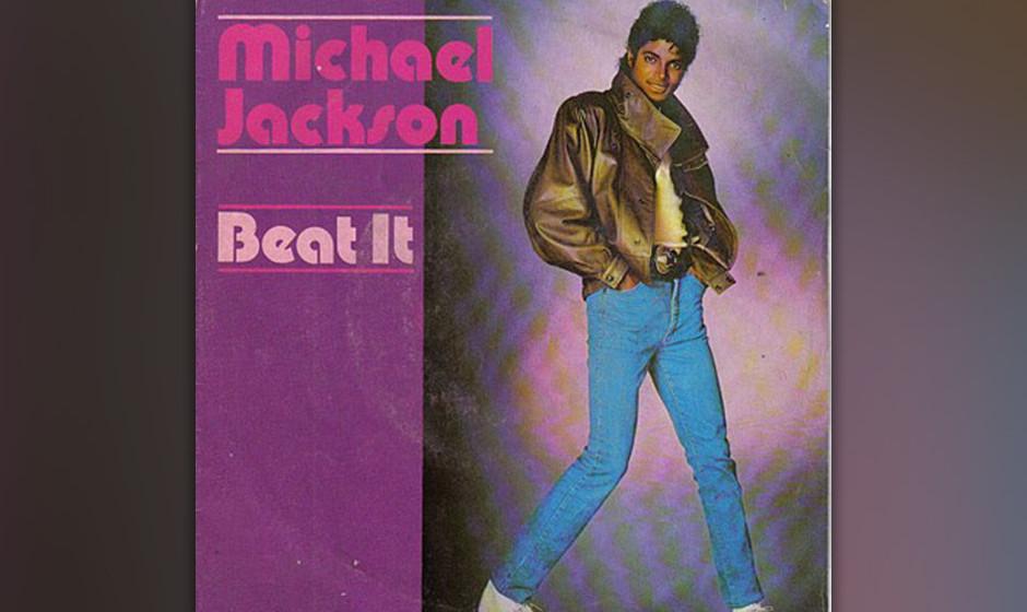 344. 'Beat It' - Michael Jackson (Michael Jackson) Produzent Quincy Jones hatte Jackson empfohlen, für das kommende Album ei