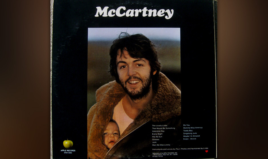 347. Paul McCartney -'Maybe I'm Amazed' (McCartney) 'Maybe I'm Amazed' erschien zuerst auf 'McCartney', welches Pau