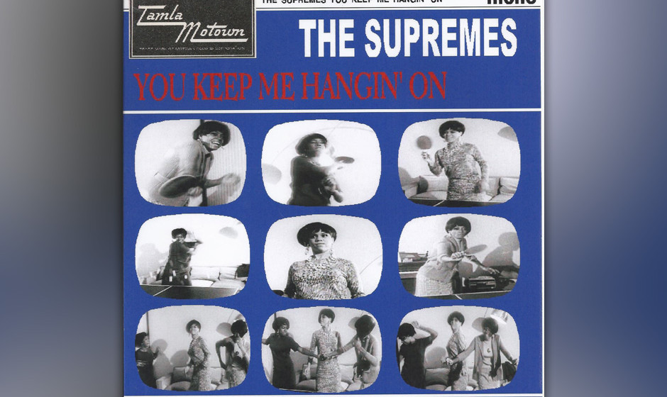 348. 'You Keep Me Hanging On' - The Supremes (Holland, Dozier, Holland) Es geht los mit einer stotternden Gitarrenline, die w