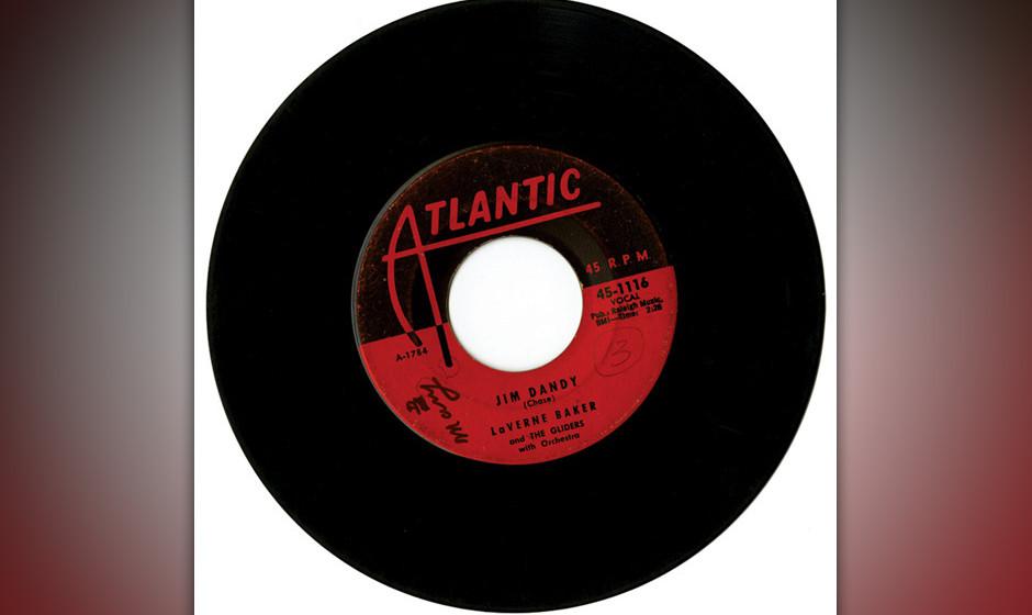 352. Lavern Baker - 'Jim Dandy' (Lincoln Chase) Baker war eine Chicagoer Sängerin mit Stammbaum – ihre Tante war Blues-Sä