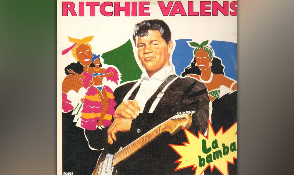 354. 'La Bamba' - Ritchie Valens (W. Clauson) Valens' 1958er Version des mexikanischen Oldies war eigentlich nur die B-Seit