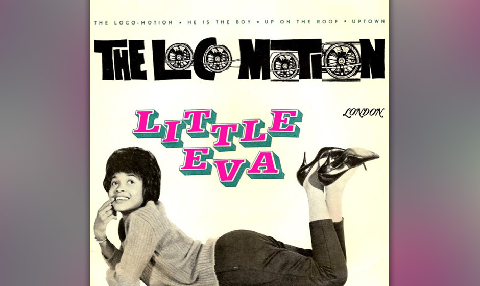 359. 'The Loco-Motion' - Little Eva (G. Goffin, C. King) Mit 17 wurde Eva Boyd vom Songwriter-Team King & Goffin als Babysitt
