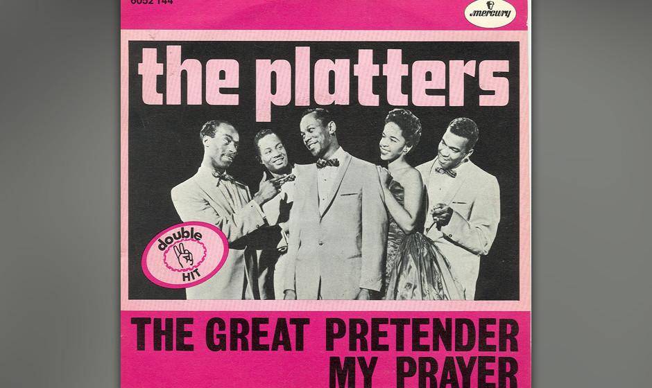 360. 'The Great Pretender' - The Platters (Buck Ram) Die Platters waren mit ihrem butterweichen Harmoniegesang Nachfolger der
