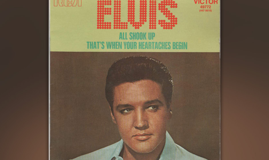 361. 'All Shook Up' - Elvis Presley (O. Blackwell, E. Presley) Songwriter Al Stanton marschierte eines Tages ins Studio in Me