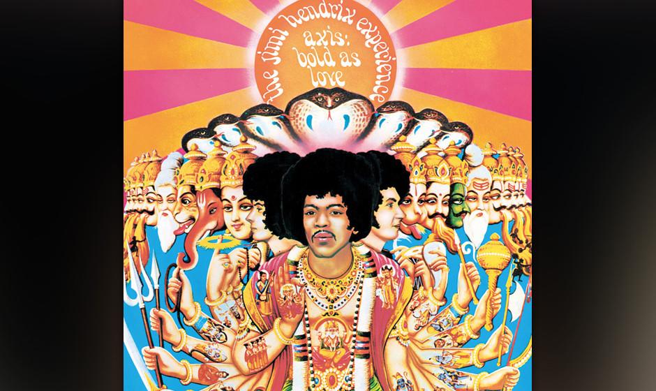 366. 'Little Wing' - Jimi Hendrix (J. Hendrix) Noch euphorisiert von seinem Erfolg beim Monterey-Festival ging Hendrix bei de