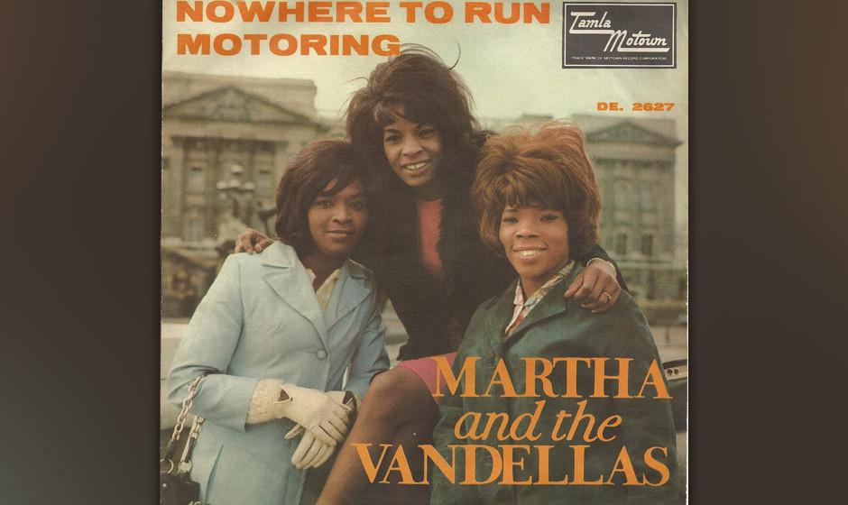 367. 'Nowhere To Run' - Martha Reeves & The Vandellas (Holland, Dozier, Holland) Martha Reeves arbeitete bei Motown als Sekre
