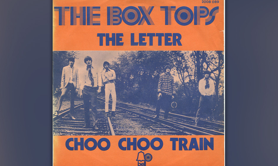 372. The Box Tops - 'The Letter' (Wayne Carson Thompson) Bei 'The Letter' stöhnt Alex Chilton wie ein schroffer Soul-Man