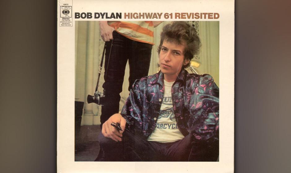 """373. Bob Dylan - 'Highway 61 Revisited' (Dylan) """"Highway 61 beginnt ungefähr da, wo ich geboren wurde"""", schreibt Dylan i"""
