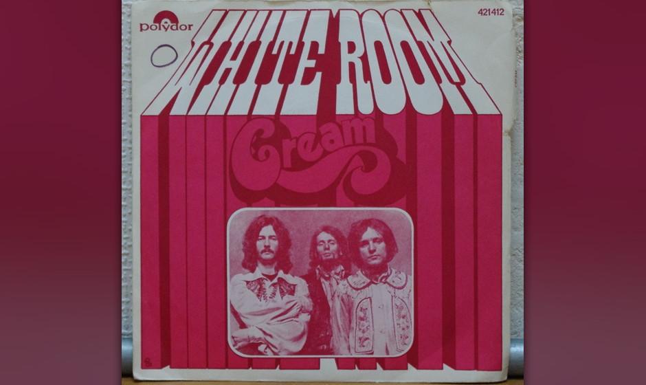 376. Cream - 'White Room' (Pete Brown, Jack Bruce) Angetrieben von Eric Claptons Wah-Wah-Arbeit kam die nervenaufreibende, ps
