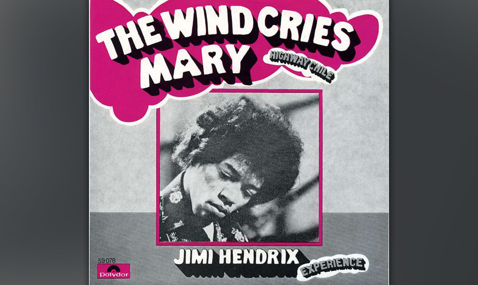 "379. 'The Wind Cries Mary' - Jimi Hendrix (Jimi Hendrix) Hendrix schrieb ""The Wind Cries Mary"" nach einem häuslichen Str"
